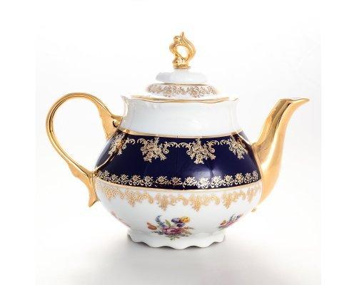 Чайник 1,2 мл Констанция Кобольт Полевой цветок Thun (Тхун)