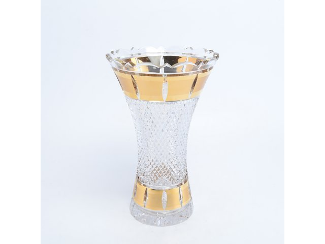 Ваза 25 см Crystal heart Bohemia (Богемия)