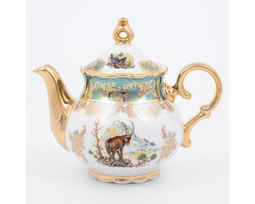 Чайник 500 Фредерика Охота Зеленая Roman Lidicky