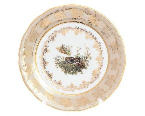 Набор тарелок 19 см Офелия Охота бежевая (6 шт) Moravec