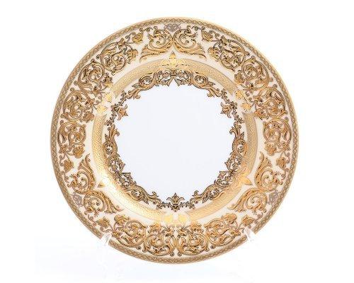 Набор тарелок 17 см Natalia creme gold (6 шт)