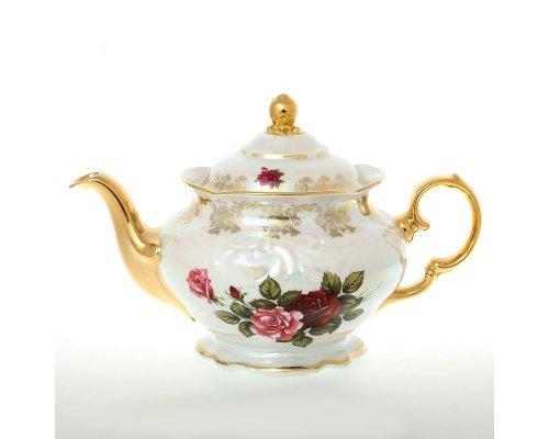 Чайник 1,2 мл Фредерика Роза перламутр