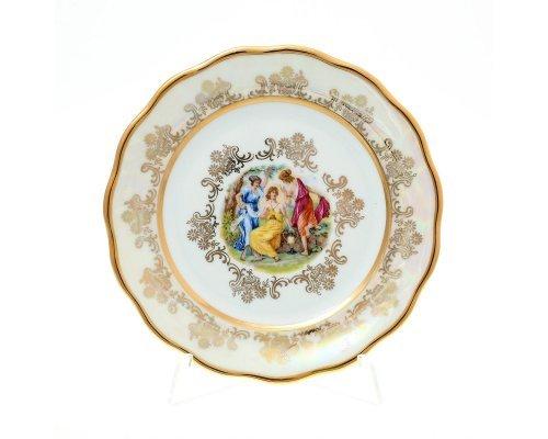 Набор тарелок 17 см Мадонна Перламутр Sterne porcelan (6 шт)