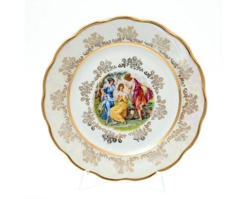 Набор тарелок 21 см Мадонна Перламутр Sterne porcelan (6 шт)