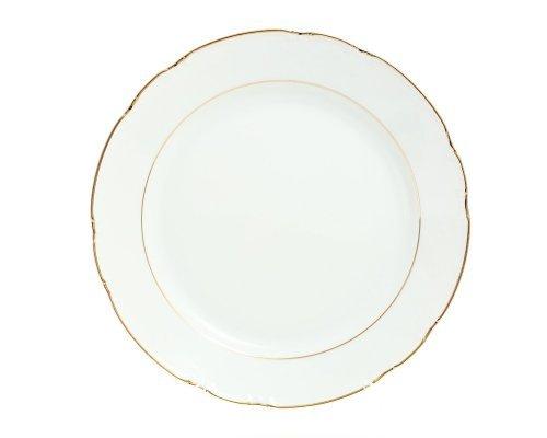 Блюдо круглое 30 см Констанция Отводка золото