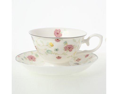 Набор чайных пар Изабель Royal (Роял) 230 мл (6 пар)