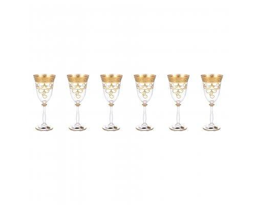 Набор бокалов для вина 250 мл Анжела Star Crystal (6 шт)
