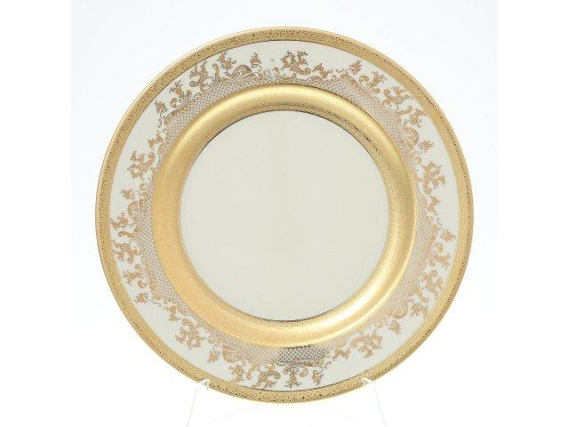 Блюдо круглое 30 см Falkenporzellan Cream Gold 9320