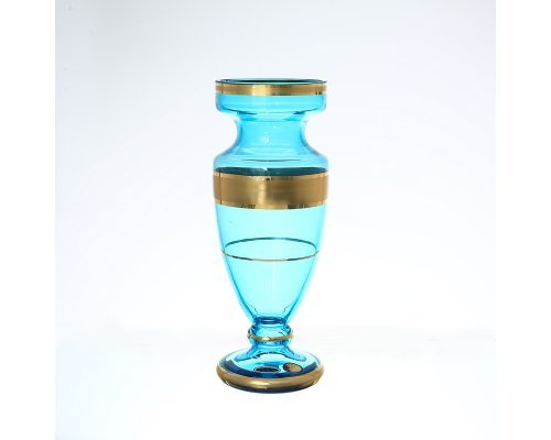 Ваза 20 см Синяя Star Crystal