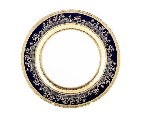Блюдо круглое 32 см Cobalt Gold 9320