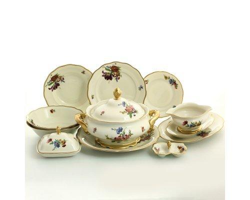 Столовый сервиз на 6 персон 27 предметов Слоновая кость Sterne porcelan