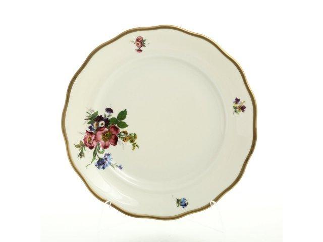 Набор тарелок 25 см Слоновая кость Sterne porcelan