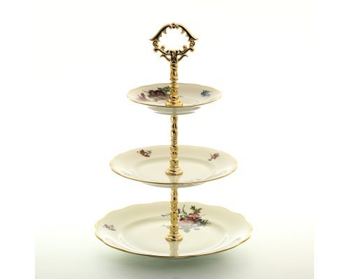 Этажерка (Горка) 3 яруса Слоновая кость Sterne porcelan