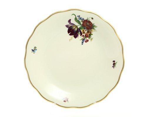 Блюдо круглое 30 см Слоновая кость Sterne porcelan