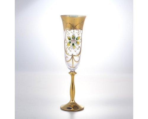 Набор бокалов для шампанского 190 мл Анжела Star Crystal (6 шт)