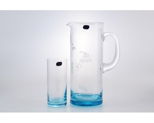 Набор для воды 7 предметов Bohemia