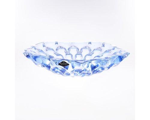 Фруктовница 35 см синяя SAMBA RHABSODY BOHEMIA TREASURY