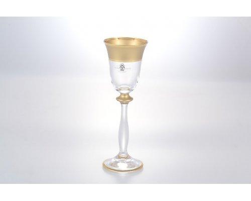 Набор рюмок для водки 60 мл Анжела Матовая полоса AS Crystal (6 шт)