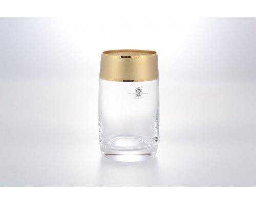 Набор стаканов 250 мл Матовая полоса AS Crystal (6 шт)