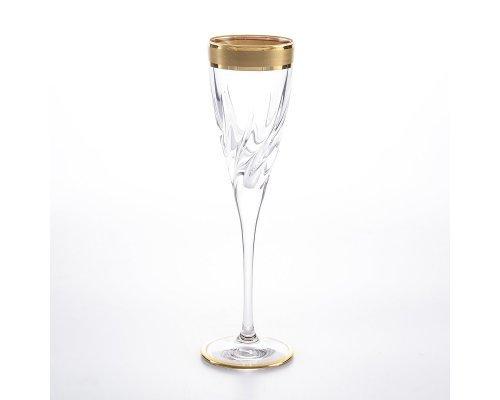 Набор фужеров для шампанского 120 мл TRIX RCR STYLE