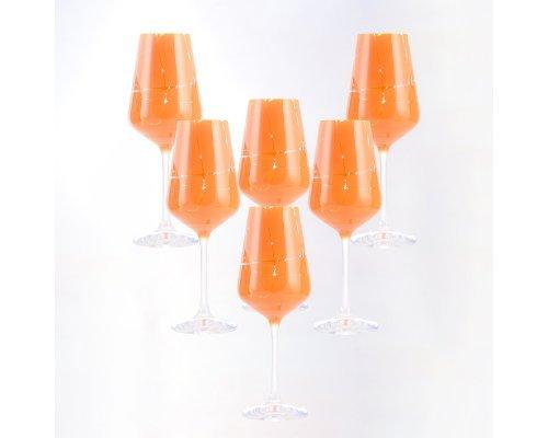 Набор бокалов для вина 250 мл 6 шт Sandra