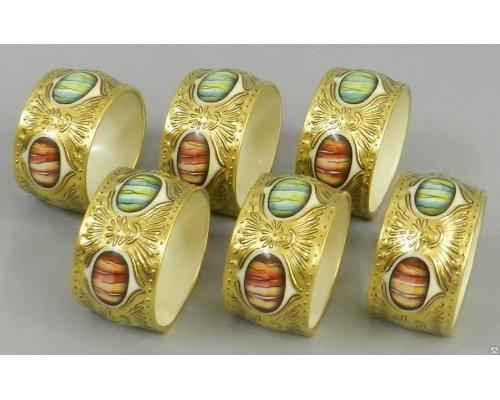 Набор колец для салфеток Rudolf Kampf Antique Medallions 6шт