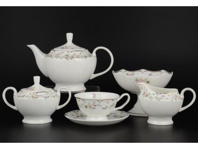 Чайный сервиз на 12 персон 28 предметов Воспоминание Royal