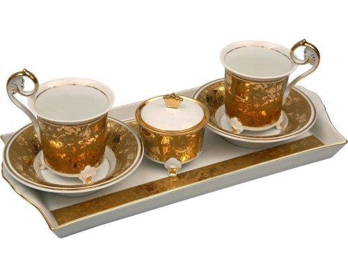 Подарочный набор кофейный Тет-а-тет Rudolf Kampf D859 на 2персоны