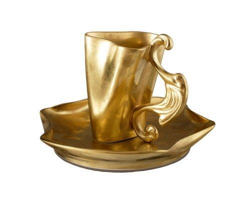 Чашка высокая с блюдцем Rudolf Kampf Дали 1001 0,15л