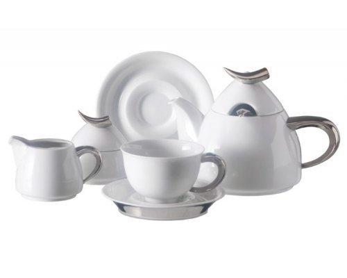 Сервиз чайный Rudolf Kampf Кельт 1122 на 6 персон 15 предметов с чайником 1,20л в подарочном коробе