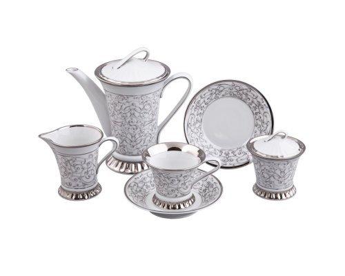 Сервиз чайный Rudolf Kampf Византия D936 на 6 персон 15 предметов