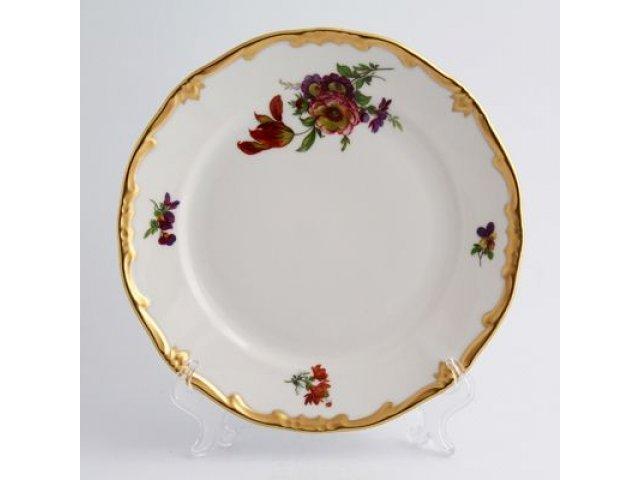 Набор тарелок Мейсенский букет Weimar Porzellan 19 см 6 штук