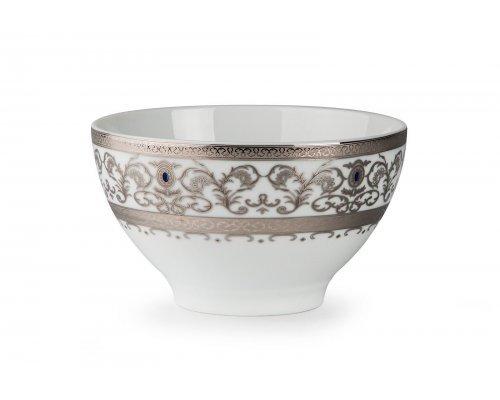 Tunisie Porcelaine Mimosa Prague Platine 1647 салатник 13 СМ