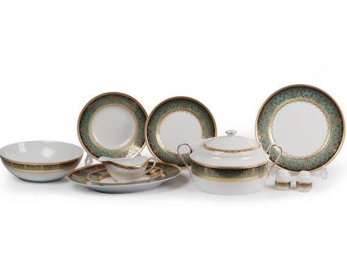 Tunisie Porcelaine Mimosa Prague Degrade 1643 столовый сервиз на 6 персон 25 предметов