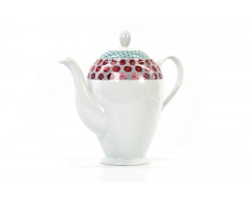 Кофейник 1,4 л Tunisie Porcelaine Isis Малина 2255