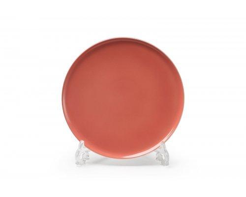 Тарелка десертная 21см Tunisie Porcelaine Yaka rose 2228