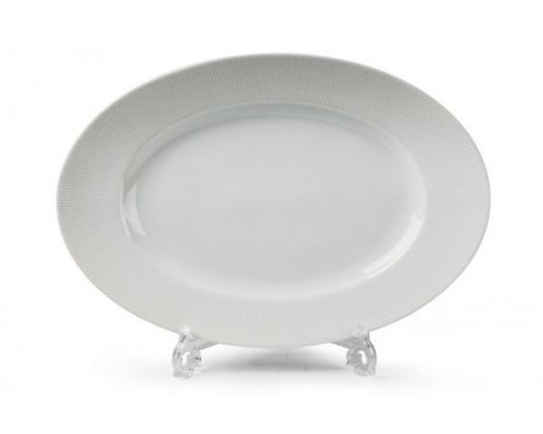 Tunisie Porcelaine Zen Asymetrie Blanc 2161 блюдо