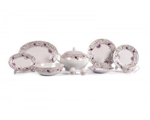 Tunisie Porcelaine Mimosa Fleur de Paradis 1607 столовый сервиз на 6 персон 25 предметов