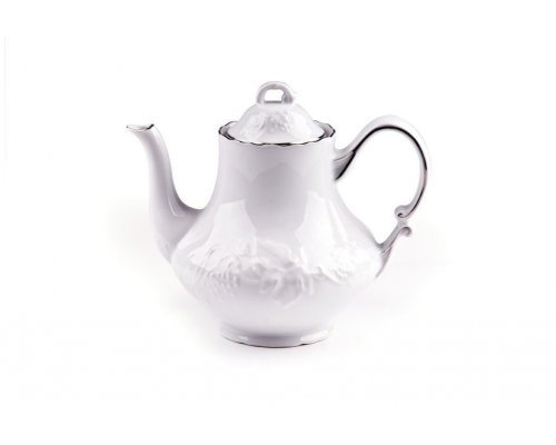 Чайник заварочный Tunisie Porcelaine Vendange Filet Platine 1 л