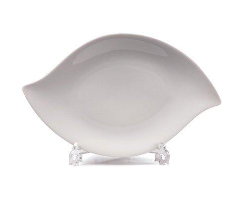 Tunisie Porcelaine Feuille Блюдо для рыбы и салатов Д32 х 20см