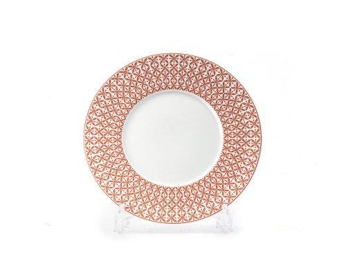 Тарелка 27 см Tunisie Porcelaine Ажур