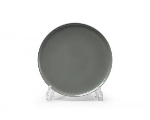 Тарелка десертная 21см Tunisie Porcelaine Yaka gris 3064
