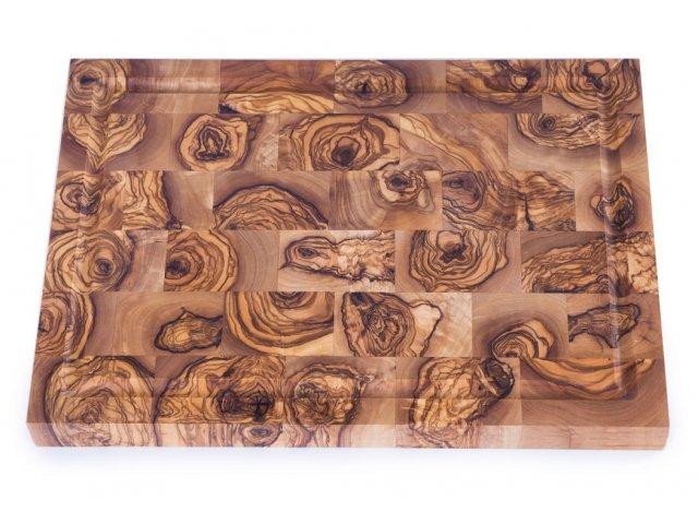 Доска торцевая из оливкового дерева OLIVIER 35 см