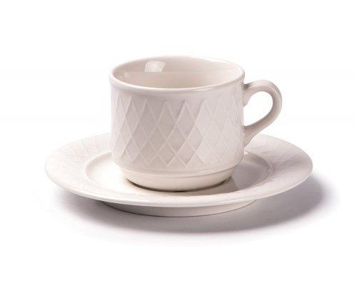 Tunisie Porcelaine Grand siegle Чайная пара 210мл, Д 8,7хН7,5см