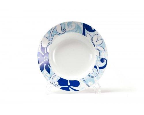 Набор глубоких тарелок 22см (6шт) Tunisie Porcelaine Mimosa Bleu Sky 2230