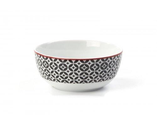 Салатник 13 см Tunisie Porcelaine Черный Витон