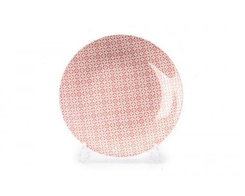 Тарелка 27 см Tunisie Porcelaine Розовый Витон