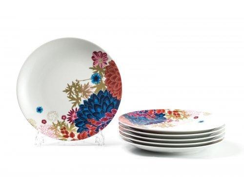 Набор плоских тарелок 27 см. Tunisie Porcelaine Ilionor 2227 (6шт)