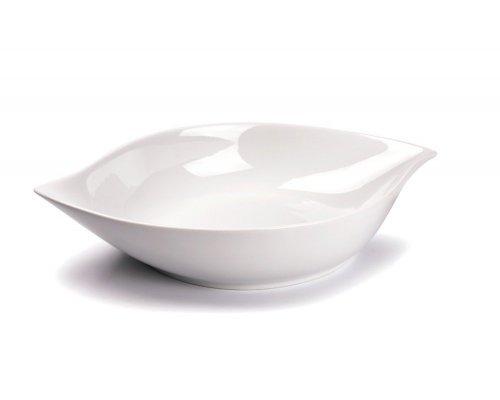 Tunisie Porcelaine Feuille Блюдо овальное глубокое Д36 х 22 х Н6,5см