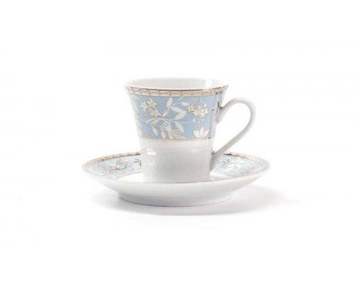 Набор кофейных пар Classe 1596 Tunisie Porcelaine 110 мл на 6 персон 12 предметов